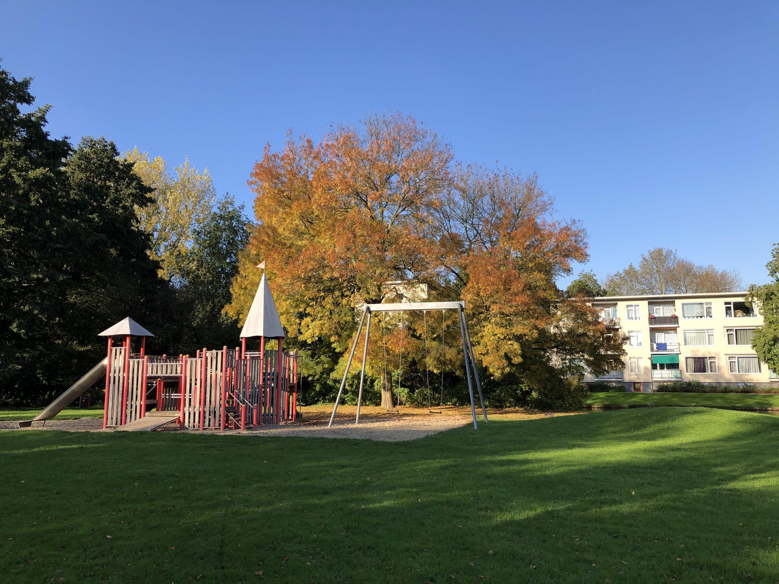 Playground in Wielwijk park