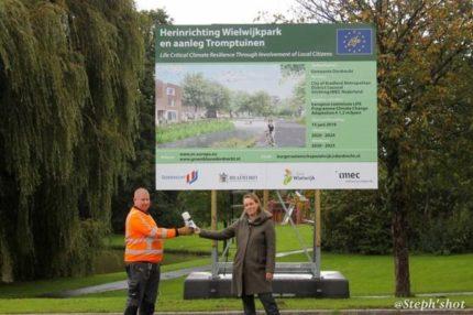 Wielwijk proeftuin tegen klimaatverandering